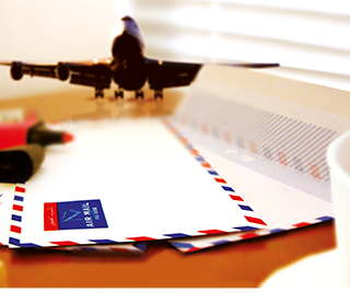 Accustomed Airmail Envelopes